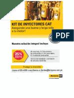 Cotizacion caterpillar Inyectores
