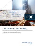 Adl the Future of Urban Mobility Report
