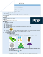 Lesson Plan for Letter Pp