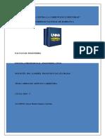 Monografia en Obras de Arte en Carreteras - Componentes y Proceso Constructivo