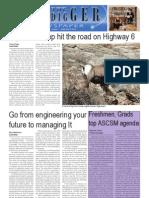 The Oredigger Issue 9 - November 8, 2010