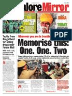 Banglore Mirror@AllIndianNewsPaper4u 17