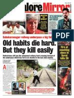 Banglore Mirror@AllIndianNewsPaper4u 18