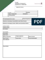[Sample] SWAYAM MOOCs Proposal