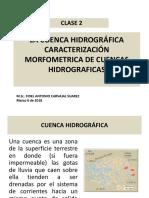 Clase 2 CARACTERIZACION MORFOMETRICA DE CUENCAS HIDROGRAFICAS.pdf