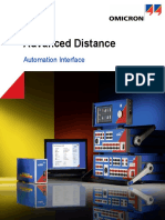Advanced Distance Automation Interface