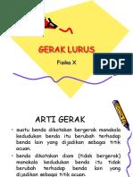 69950409 Ppt Gerak Lurus