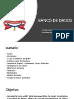 Aula 01 - Banco de Dados