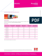 Prysmian XLPE Multicore 3CORE SWA circular 0-6/1kV