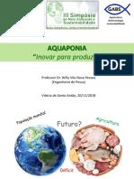 Palestra III Simposio de Meio Ambiente e Sustentabilidade IFPE VSA