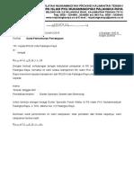 Surat Permohonan Dokter Spesialis Paruh Waktu