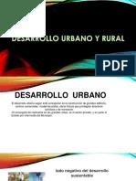 3.2.4 Desarrollo Urbano y Rural