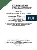 Buku Program Lkp