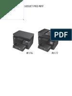 HP Color Laserjet Pro m176 (1)