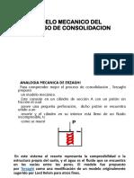 Modelo Mecanico Del Proceso de Consolidacion
