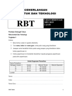 Skema Soalan Pertengahan Tahun RBT T1 2019