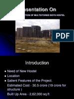 Construction of Multistoried Boys Hostel by Kanwarjot Singh