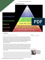 ¿Qué Es La Pirámide de Las Necesidades de Maslow