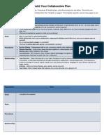 Collaborative Plan - Template