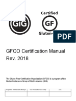 GFCO Certification Manual