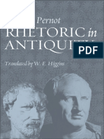 Rhetoric in the antiquity.