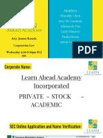 Learn Ahead Academy