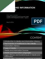 Media Info Literacy
