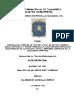 Tesis Comparacion Entre El Metodo Estatico y El Metodo Dinamico-dante Hernan Rojas Valencia