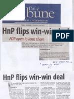 Daily Tribune, July 4, 2019, HnP flips win-win deal.pdf