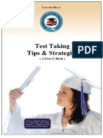 CLEP Test Taking Tips