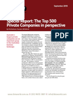 Top 500 Australia Private Companies