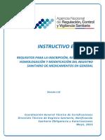IE D.1.1 MG 01 Resgitro Sanitario Medicamentos