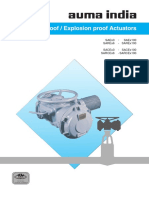 Explosion Proof Actuators