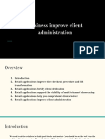 Business Improve Client Administration