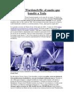 La Torre Wardenclyffe Tesla