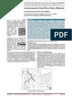 Hydroclimatological assessment of Jawi River Basin, Malaysia