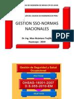 Gestion Sso-normas Nacionales