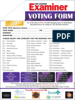2019 ABA Voting Form