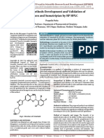 Analytical Methods Development and Validation of Naproxen and Sumatriptan by RP HPLC