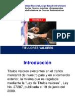 Fii_ Unidad 2.4 Titulos Valores Ok