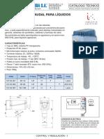 Interruptor Caudal DBSF - Tec CO05001-002_007_Control-Caudal-SF