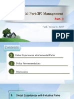 [Lecture 8] Industry Park(IP) Management 2_ParkYH