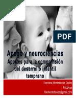 Clase Apego y Neurociencias