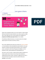 10 Programas de Afiliados Para Monetizar Tu Sitio Web