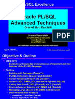 Oracle Advanced Techniques