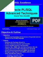 Oracle Advanced Techniques