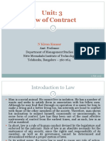 1 Law of Contract