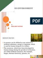Society and Environment