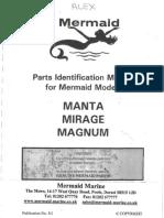Mermaid Parts Manual Manta Mirage Magnum Ford