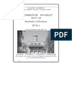 BSC Admission Booklet - OLD - 2018-19